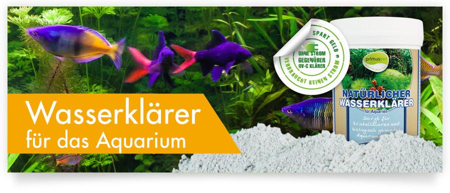 primuspet Natürlicher Wasserklärer für Ihr Aquarium - Ohne Strom