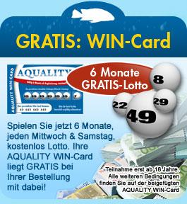 GRATIS: AQUALITY WIN-Card