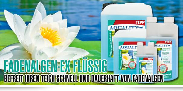 AQUALITY Fadenalgen-EX FLÜSSIG - Die flüssige Alternative für die Algenbekämpfung