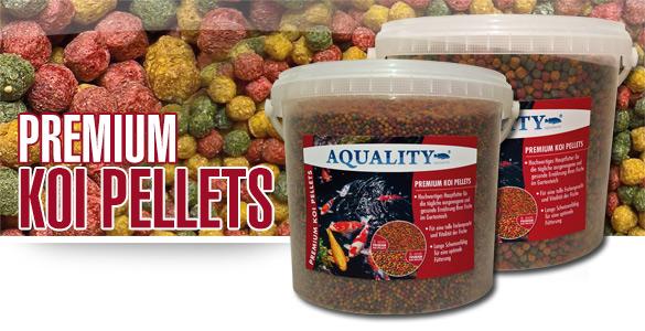 AQUALITY PREMIUM Koi Pellets für Ihren Gartenteich