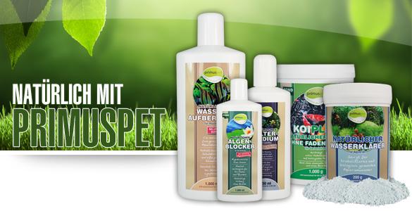 Alle primuspet bionature produkte auf einen blick for Gartenteichpflege algen