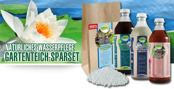 primuspet Natürliches Wasserpflege Gartenteich Spar-Set