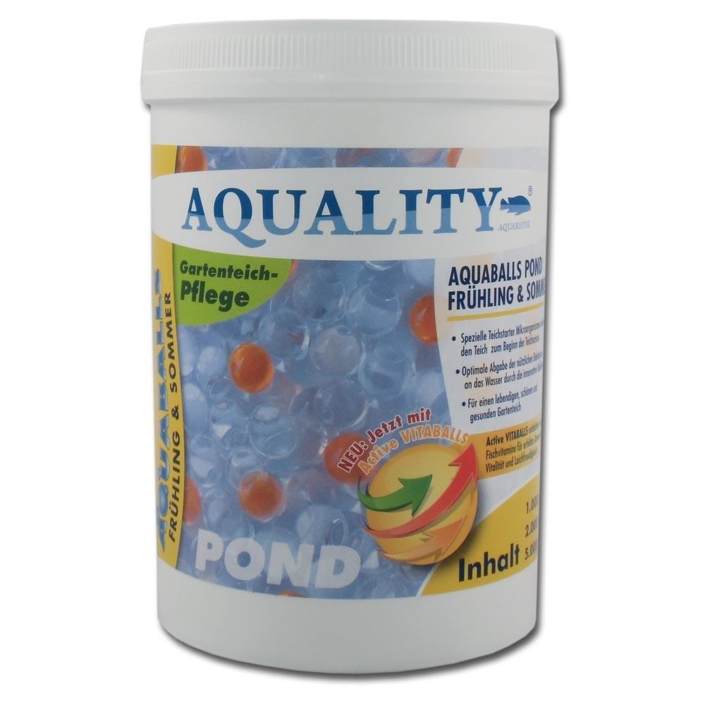 aquality aquaballs pond fr hling sommer ml. Black Bedroom Furniture Sets. Home Design Ideas